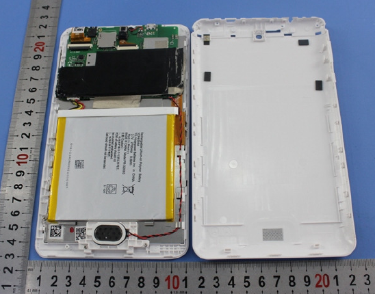 Acer Iconia One B1-770 inside