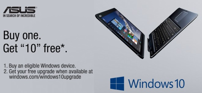Windows 10 on Asus Transformer Book Chi tablets