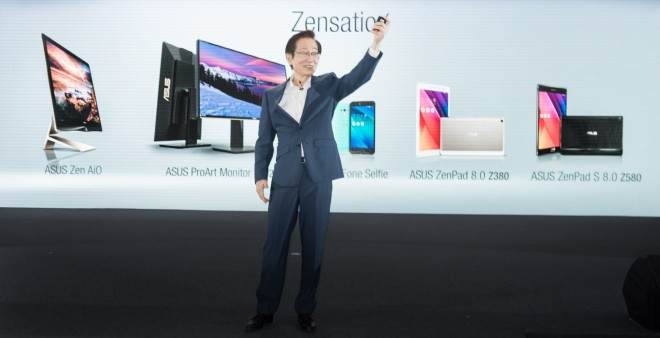 Asus chairman Jonney Shih at COMPUTEX today