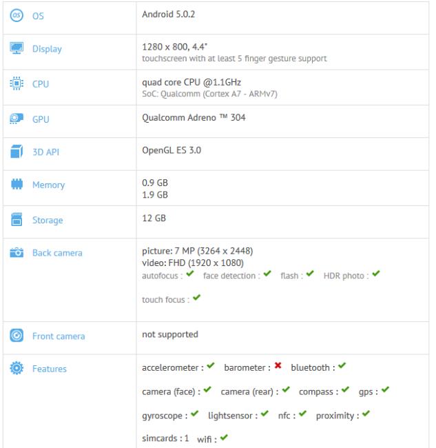 Lenovo Yoga Tablet 3 benchmark