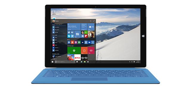 Microsoft Surface Pro 3 Windows 10
