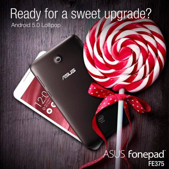 Android 5.0 Asus FonePad FE375