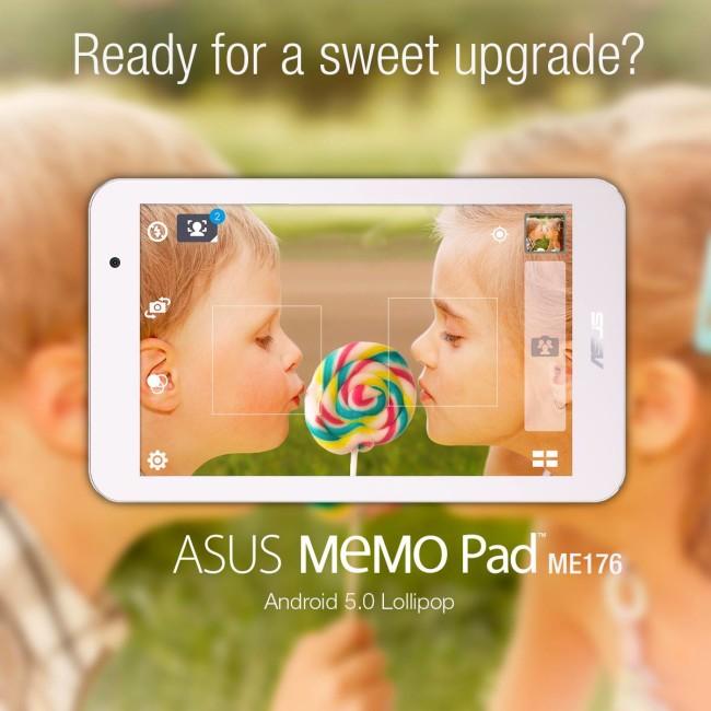 Android 5.0 Asus MeMO Pad (ME176)
