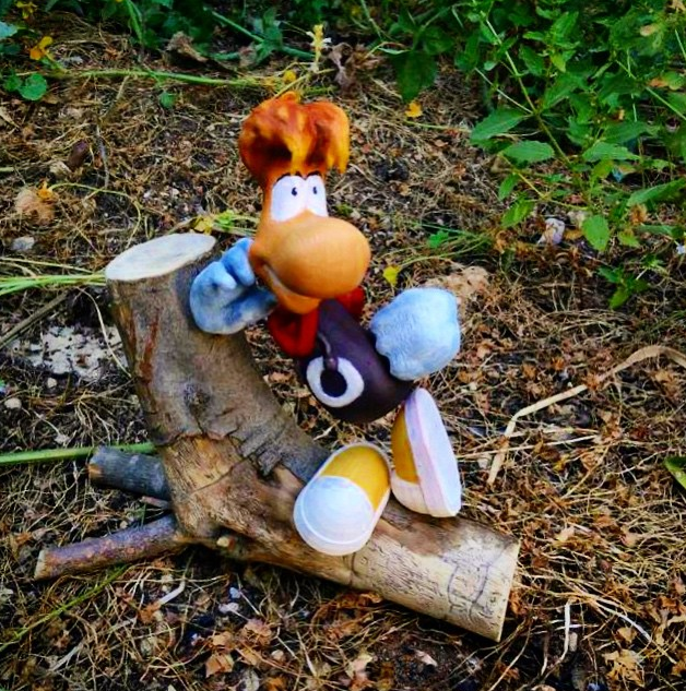 Rayman last spotted on an adventure in the forest