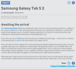 Samsung Galaxy Tab S2 officially announced