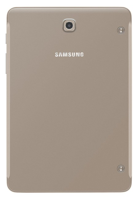Samsung Galaxy Tab S2 8.0 gold back