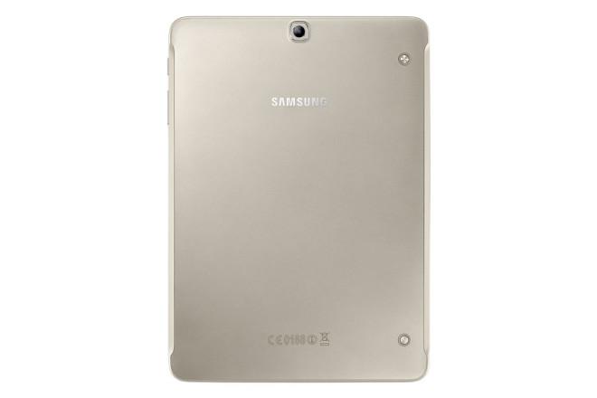 Samsung Galaxy Tab S2 in gold