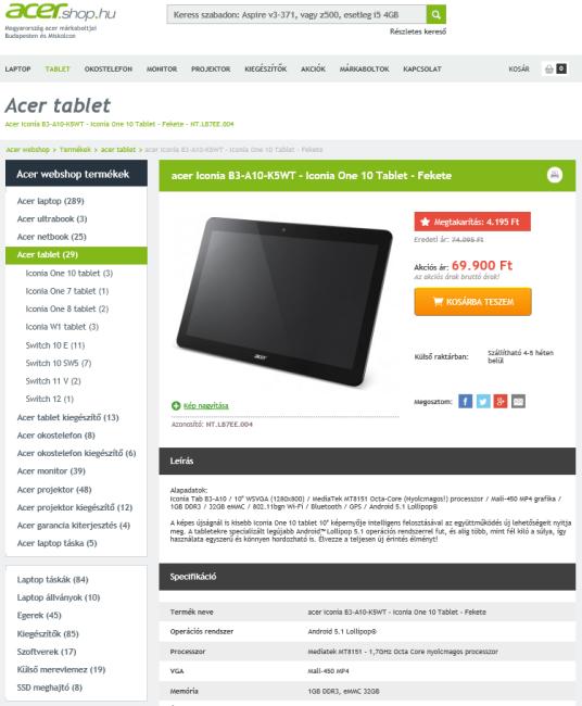 Screencap of laptop-notebook-netbook.hu