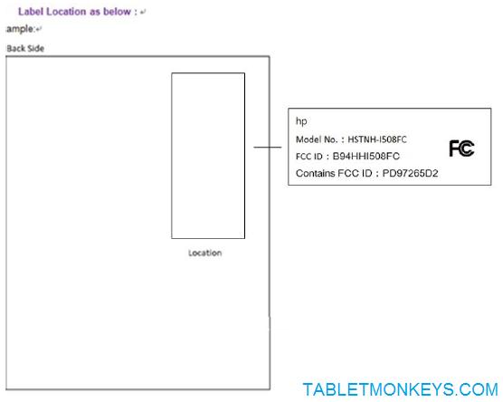 8-Inch Windows 10 Tablet HP I508FC