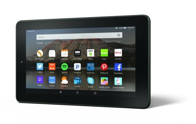 Amazon Fire 2015-2016 tablet model