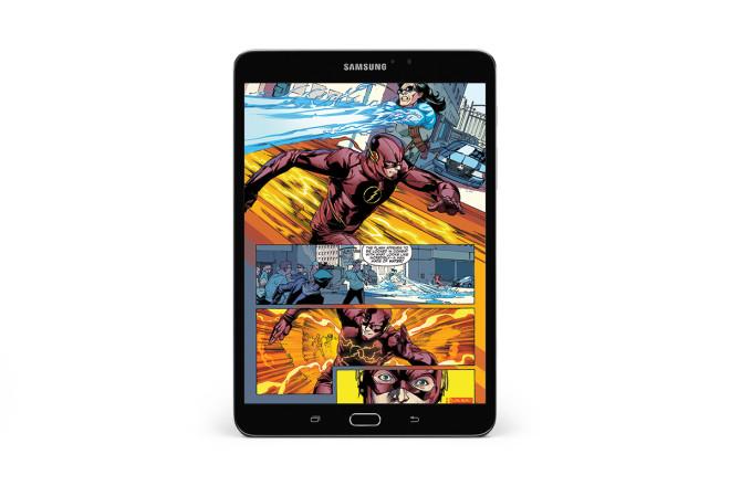Samsung Galaxy Tab S2 NOOK comic app