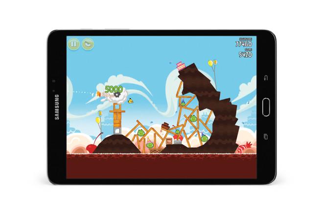 Samsung Galaxy Tab S2 NOOK games app