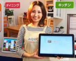 Sharp TV tablet