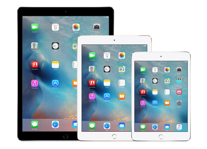 Apple iPad Air - iPad mini - iPad Pro