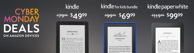 Cyber Monday ereader deals