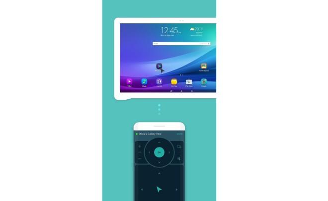 Galaxy View Remote App