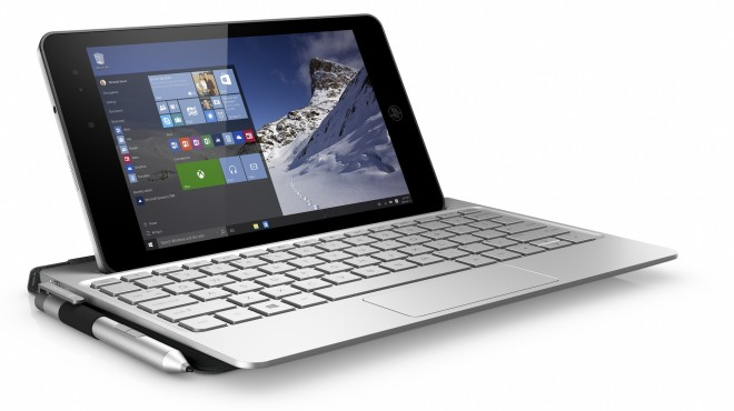 HP Envy 8 Note keyboard