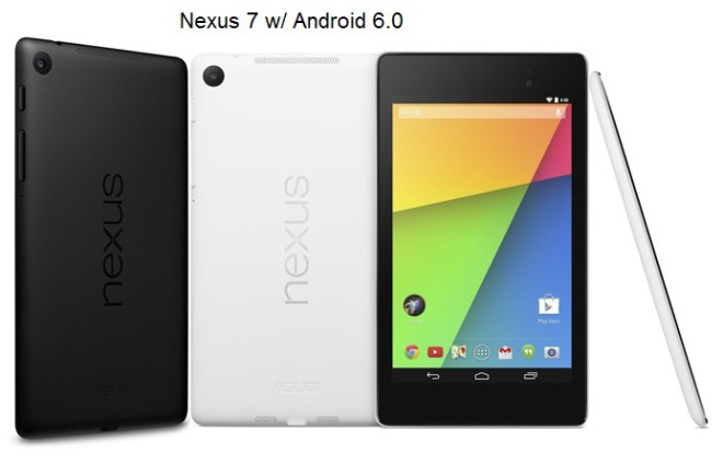 Nexus 7 with Android 6.0