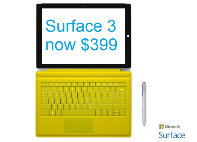 Surface 3 Sale