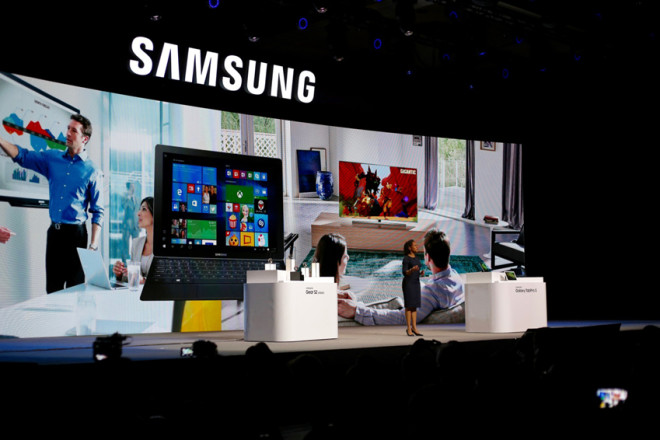 Samsung Galaxy TabPro S unveiling in Las Vegas