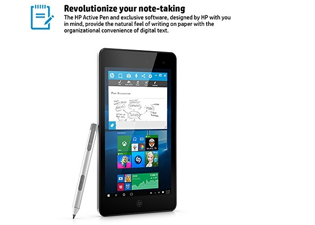 February tablet deals - HP Envy 8 Note