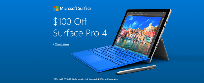 Surface Pro 4 Deal