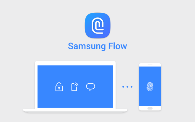 Samsung Flow App on Samsung Galaxy TabPro S