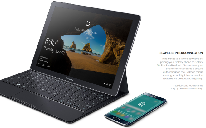 Samsung Galaxy TabPro S Features