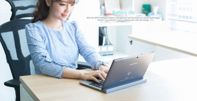 Teclast Tbook 11 battery life