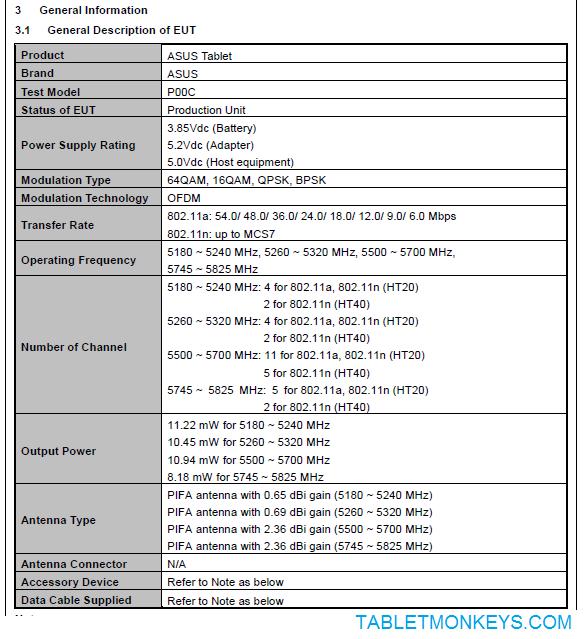 Asus ZenPad 10 Z300M - P00C
