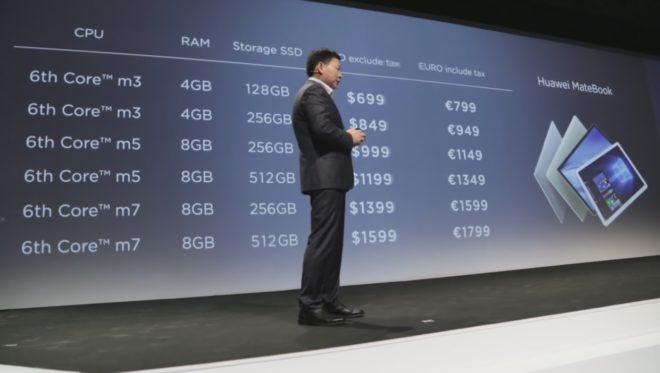 Huawei MateBook US Prices