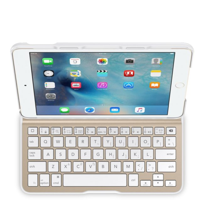 Keyboard cover for iPad mini 4