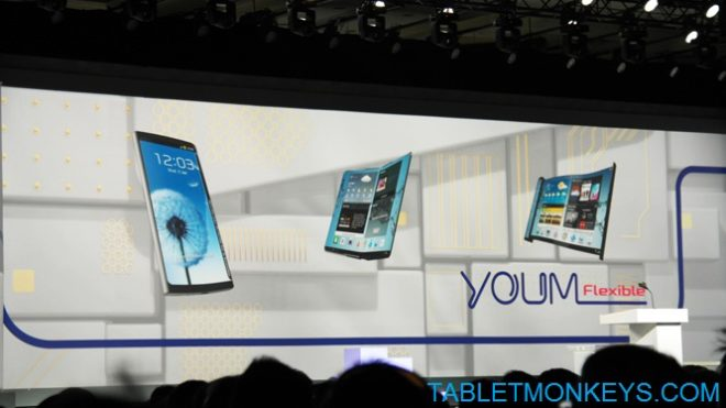 Samsung foldable tablet display OLED technology Youm
