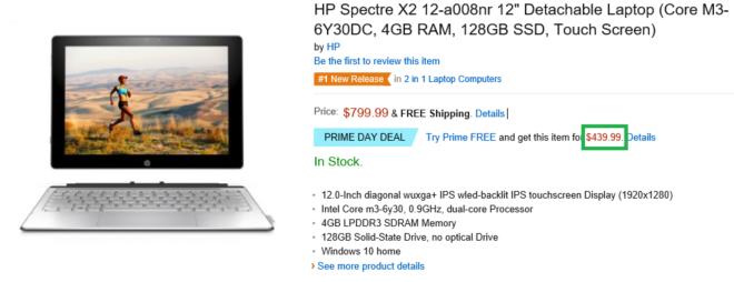 HP Spectre X2 Sale