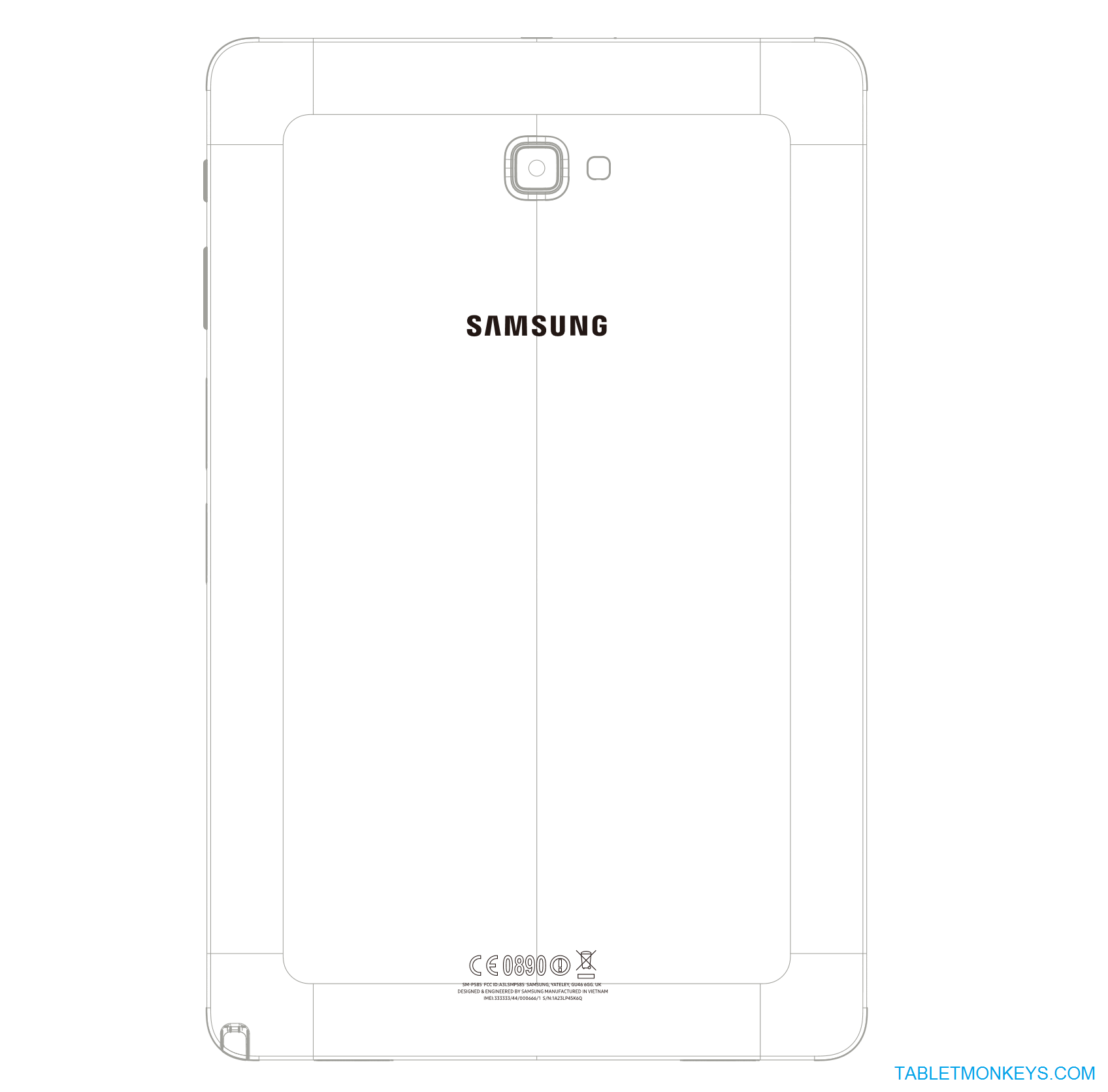 Samsung Galaxy Tab A 10.1 With S Pen SM-P585