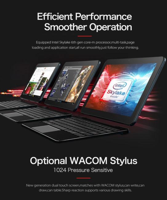 cheapest Intel Core m skylake tablets