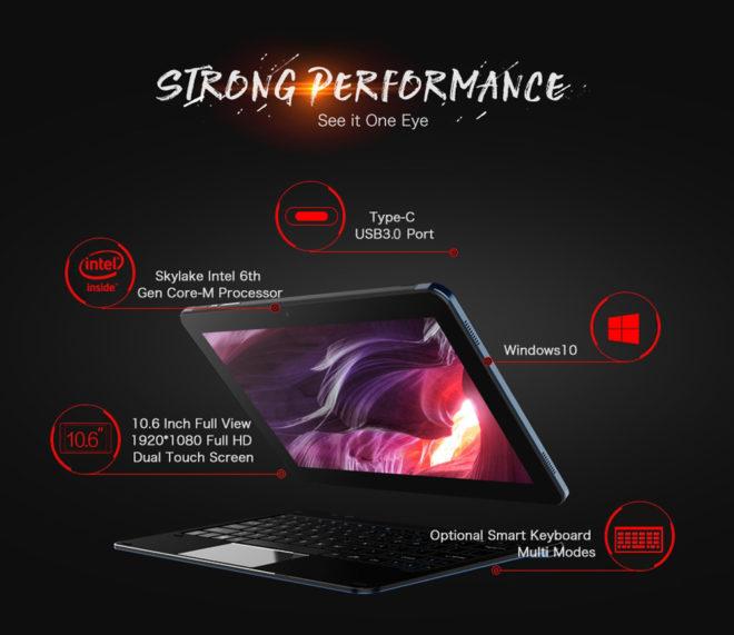 cheapest Intel Core m tablet Skylake