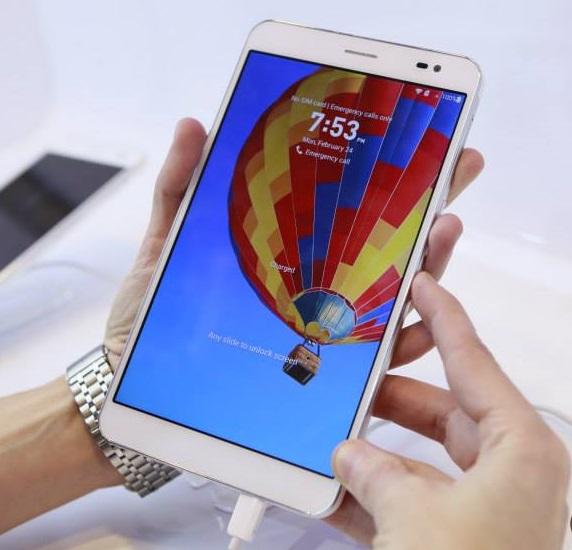 What the Huawei Mediapad looks like