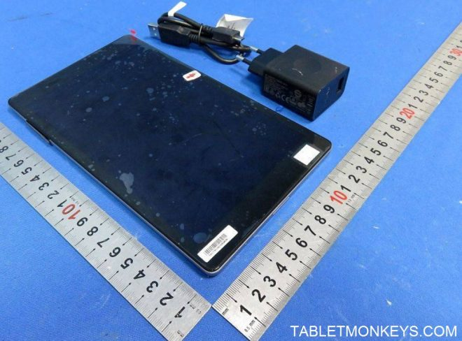 Lenovo TAB3 8 Plus with plastic cover on
