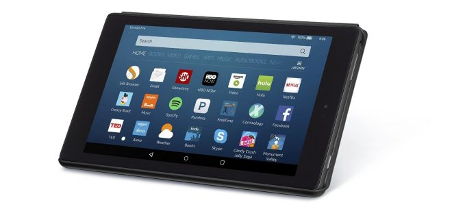 New Amazon Fire HD 8 in tablet case