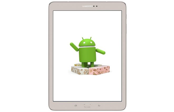 Samsung Galaxy Tab S2 Android 7.0 Nougat Update