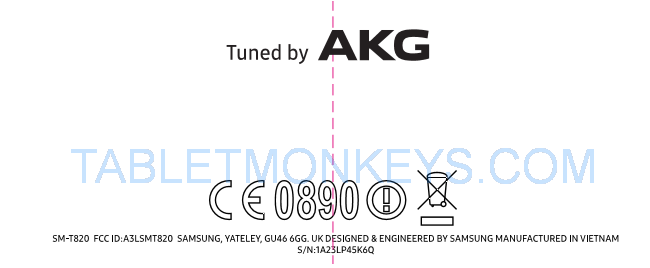Samsung Galaxy Tab S3 - Tuned By AKG