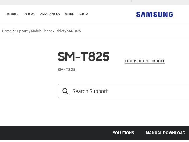 Samsung Tab S3 SM-T825