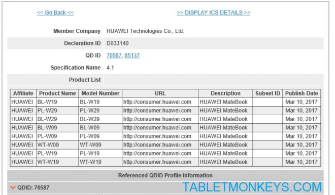 Huawei Matebook 2