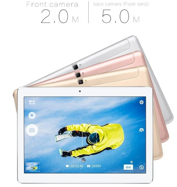 10.1-Inch 4G LTE Octa-Core Android 6.0 Tablet Voyo Q101