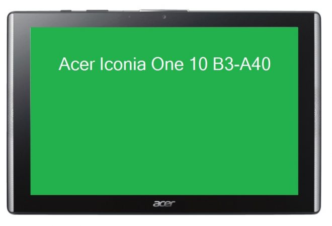 Acer Iconia One 10 - B3-A40