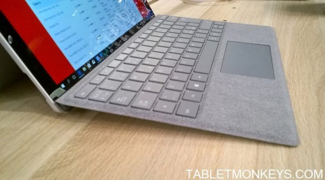 Microsoft Surface Pro Alcantara Type Cover Keyboard