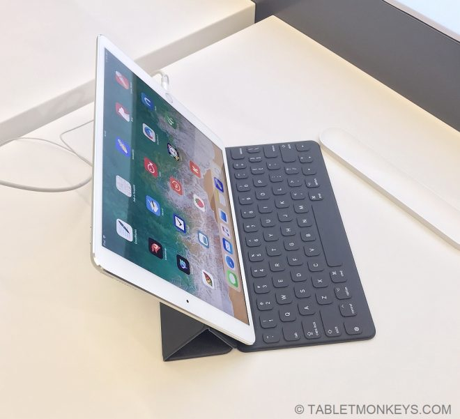 iPad Pro 10.5 with keyboard
