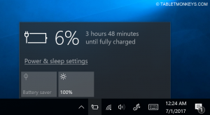Chuwi Hi13 Review - battery charging