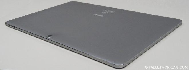 Chuwi Hi13 Review  - rear silver color